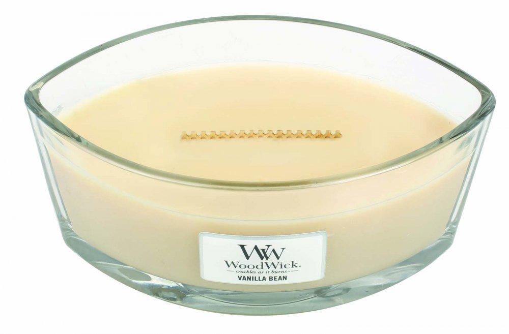 Woodwick sveča elipse Vanilla Bean