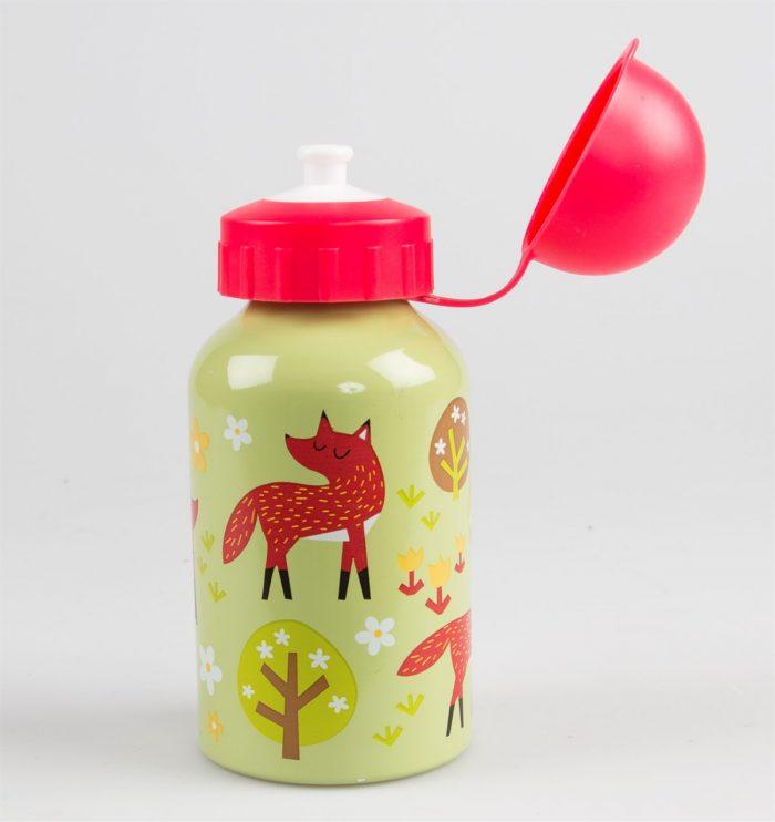 Aluminijasta flaška za vodo lisička