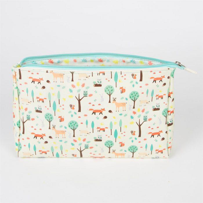 Velika toaletna torbica Whimsical Woodland
